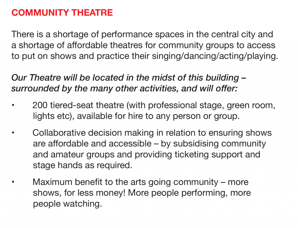 MOSA Community Theatre