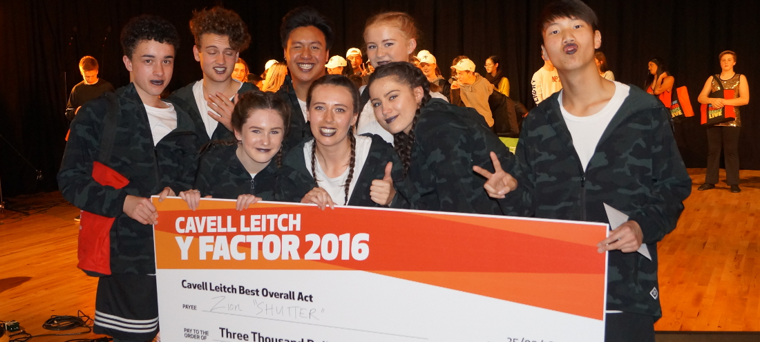 Cavell Leitch Y Factor Spectacular!