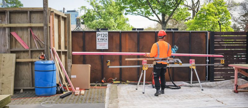 Redevelopment Project Provides Jobs
